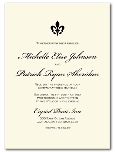 Light Luxury Wedding Invitation