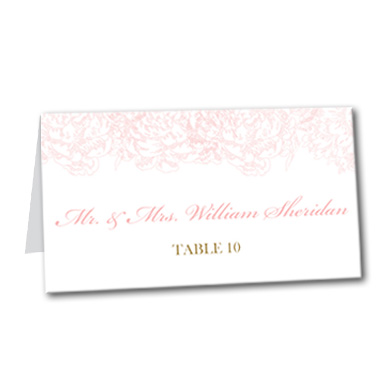 Light and Lovely Table Card