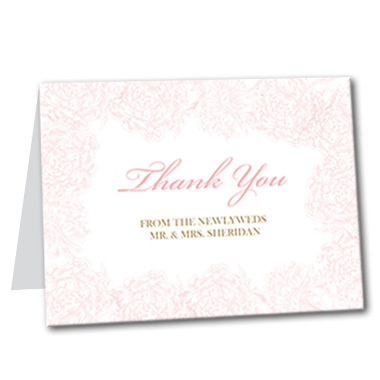 Light and Lovely Thank You Card