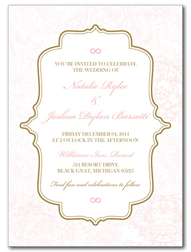 Light and Lovely Wedding Invitation