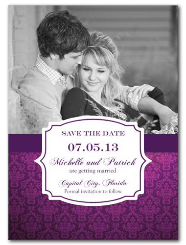 Love Labelled Save the Date Card