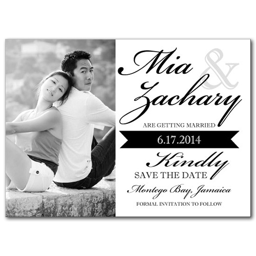 Love Struck Save the Date Card