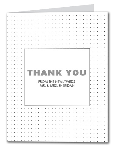 Petite Confetti Thank You Card