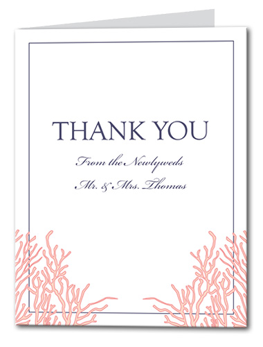 Royal Reef Thank You Card