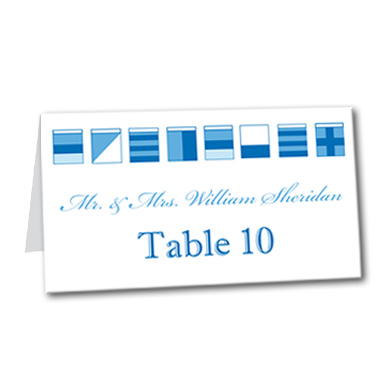 Sailor Savvy Table Card