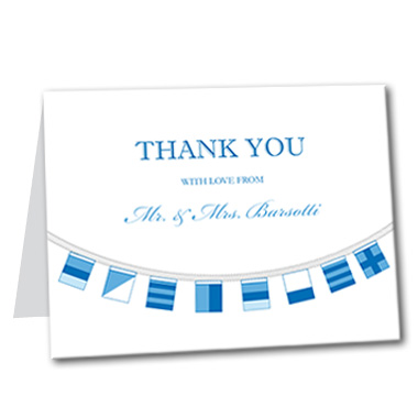Sailor Savvy Thank You Card