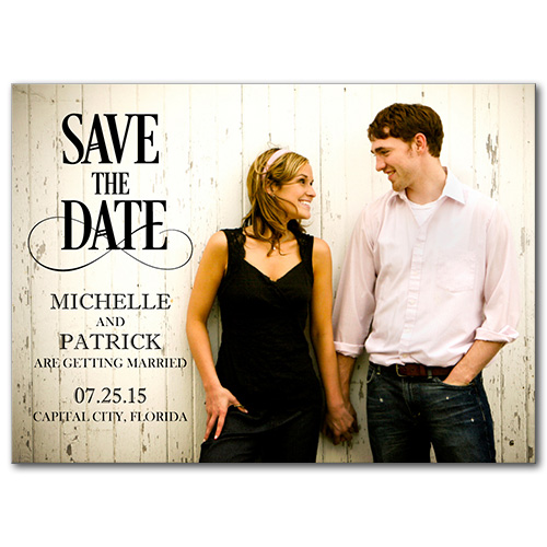 Simply Perfect Save the Date
