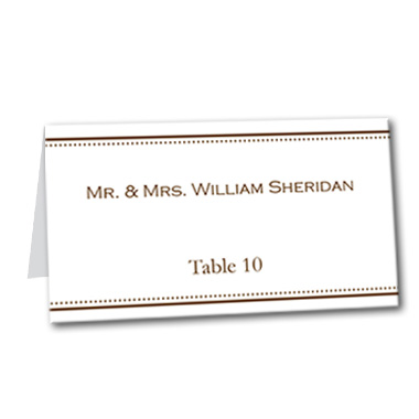 Simply Said Table Card