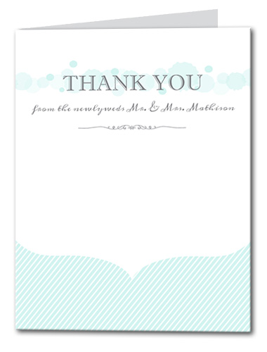Simply Serene Thank You Card