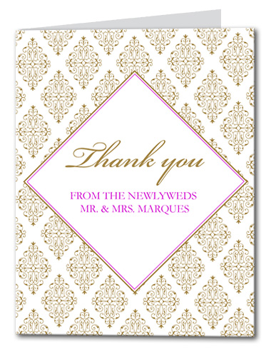 Sparkling Diamond Thank You Card