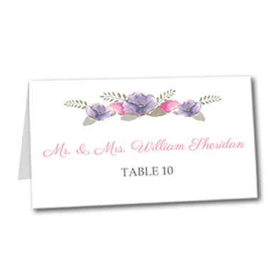 Spring Love Table Card