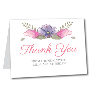 Spring Love Thank You Card