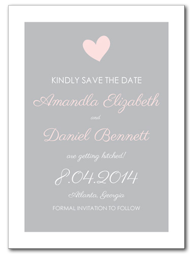 Sweet Promise Save the Date Card