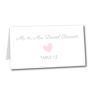 Sweet Promise Table Card