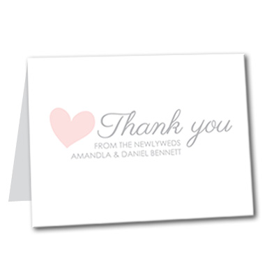 Sweet Promise Thank You Card