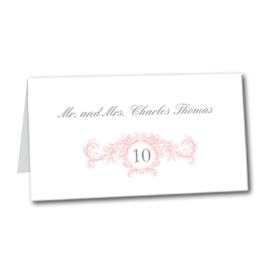 Sweet Romance Table Card