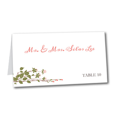 Sweet Spring Table Card