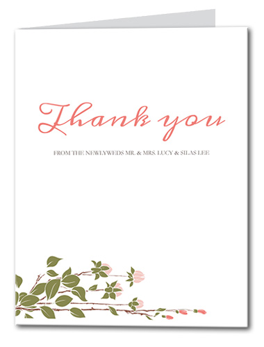 Sweet Spring Thank You Card
