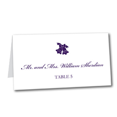 Wedding Bells Table Card