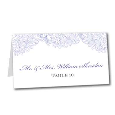 Truly Bloom Table Card