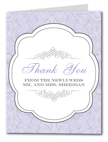 Truly Bloom Thank You Card