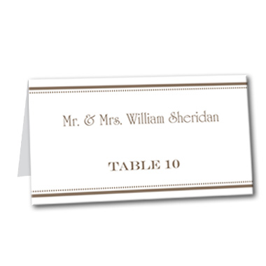 Truly Triple Table Card