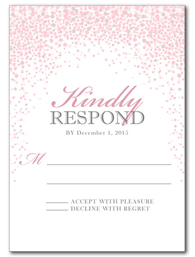 Under the Stars Response Card
