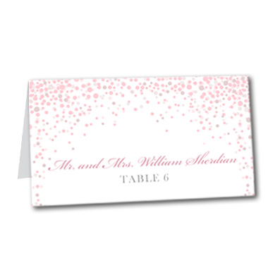 Under the Stars Table Card