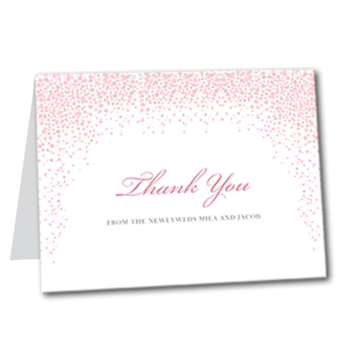 Under the Stars Thank You Card