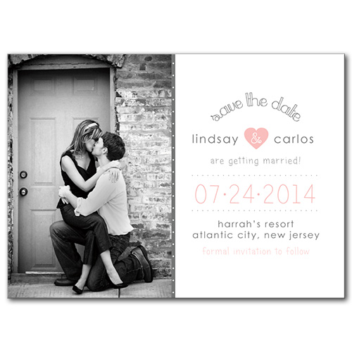Young Love Save the Date Card